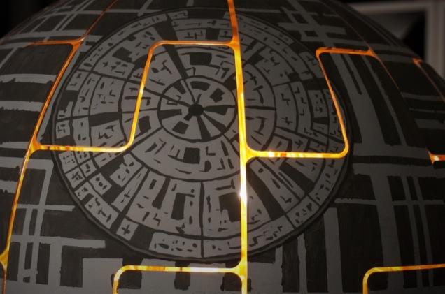 Ikea Hackers Maria Kruger Death Star Lamp Closeup