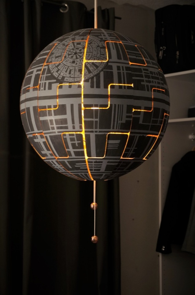 Ikea Hackers Maria Kruger Death Star Lamp
