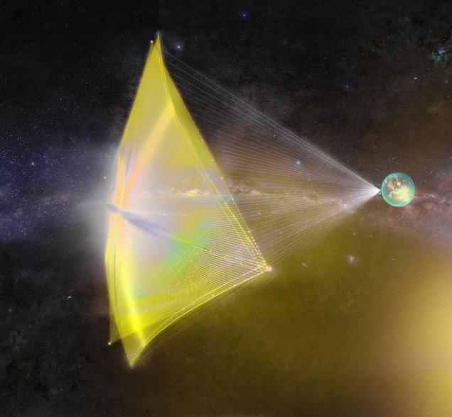 Breakthrough Starshot Light-driven Art image3