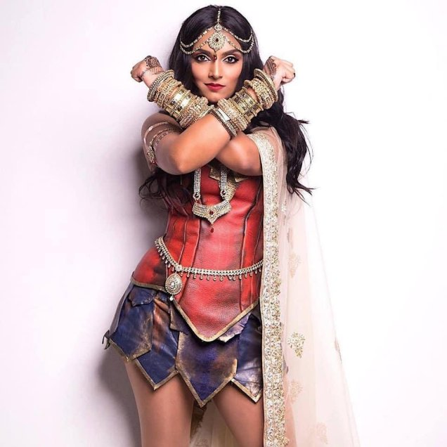 Deepika Mutyala Wonder Woman Cosplay1