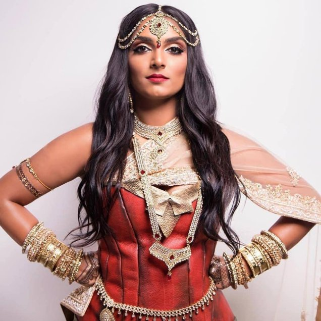 Deepika Mutyala Wonder Woman Cosplay2