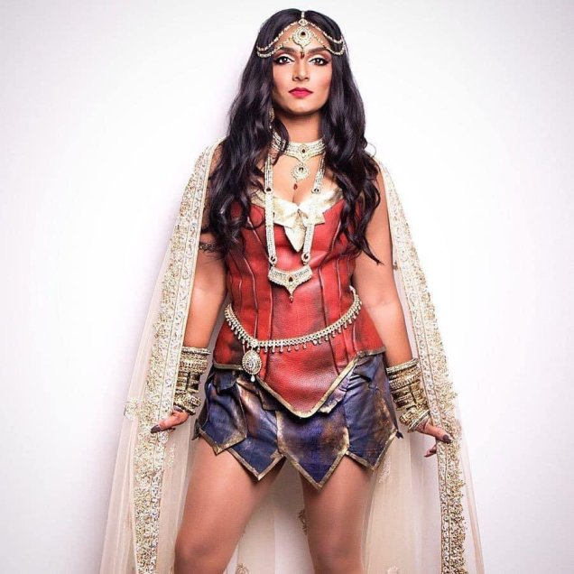 Deepika Mutyala Wonder Woman Cosplay3