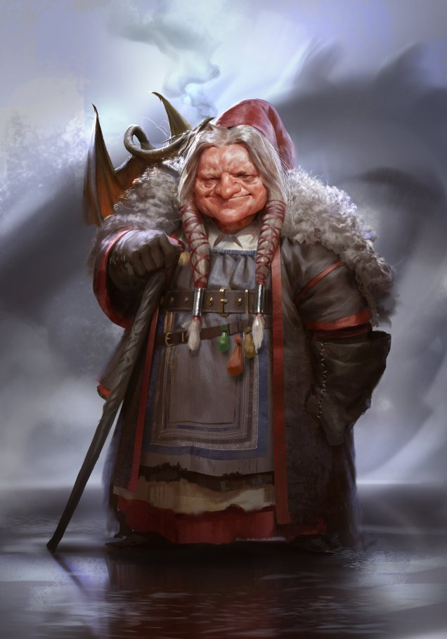 ArtStation Even Amundsen Volurheim Ragnhild