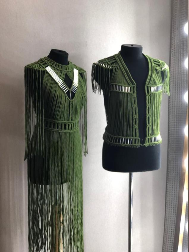 Etsy SeyanaStyle Macrame Vest and Dress