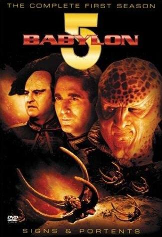 Babylon 5 season 1 DVD cover