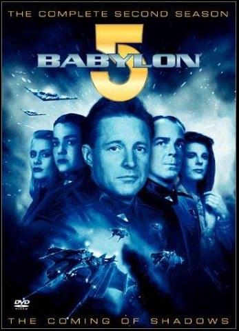Babylon 5 season 2 DVD box cover