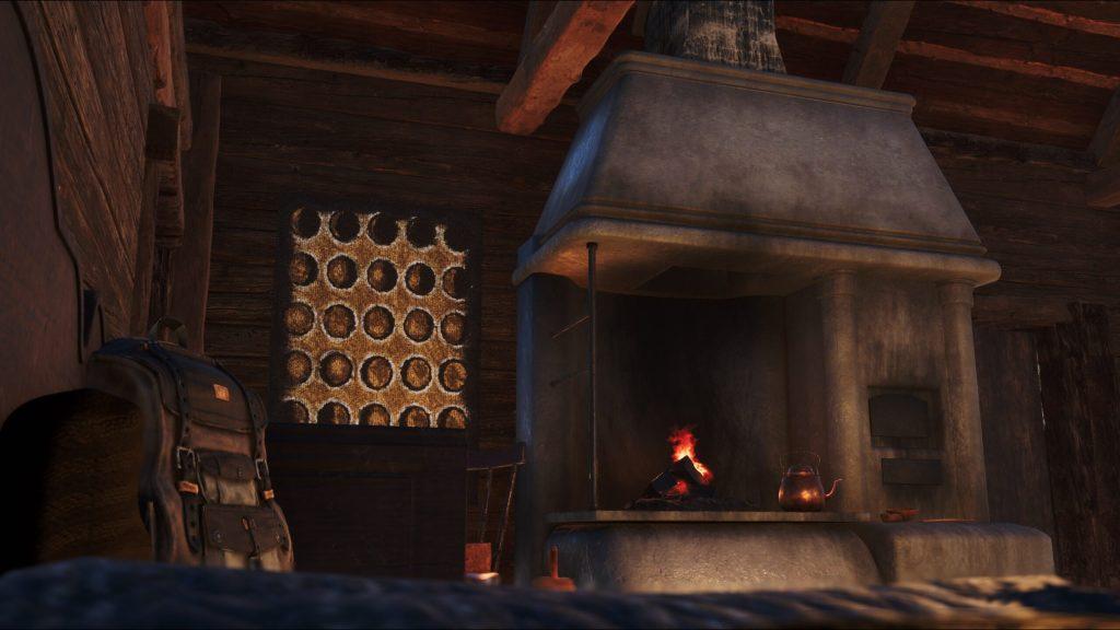 Among the Trolls Cabin Interior