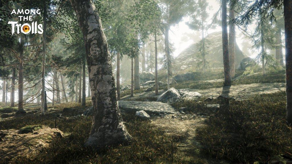 Among the Trolls Forest w Birch